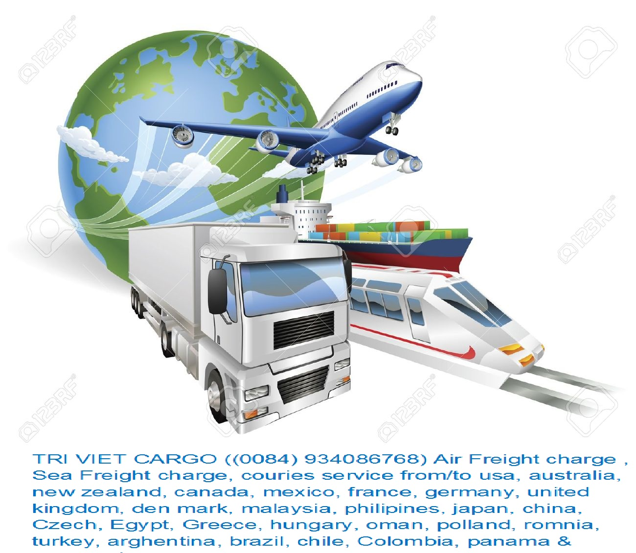 9584534-global-logistics-concept-illustration-globe-airplane-aeroplane-truck-train-and-cargo-container-ship-stock-vector
